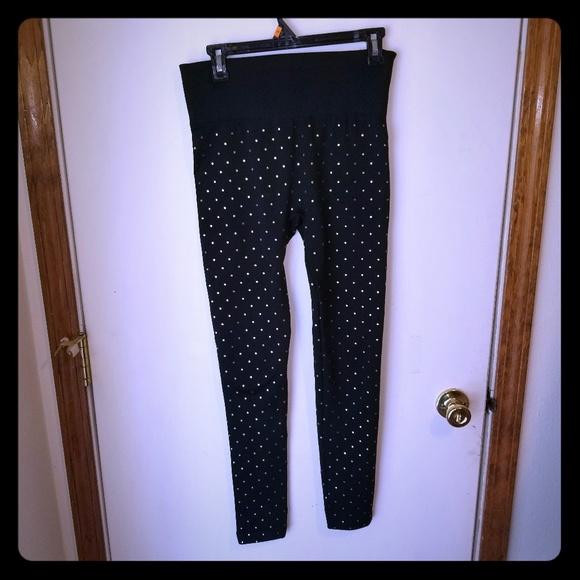 NWT Plus 2X 3X French Laundry Waist Shaping Soft /& Comfy Leggings Dark Gray